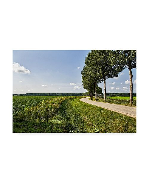 "Trademark Global Chuck Burdic The Road Ahead Canvas Art - 27"" x 33.5"""