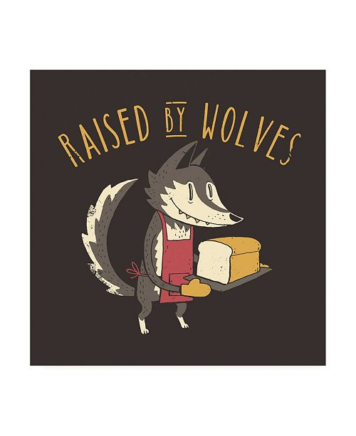 """Trademark Global Michael Buxto Raised By Wolves Canvas Art - 15.5"""" x 21"""""""