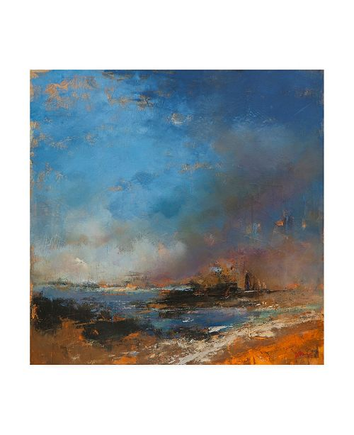 "Trademark Global Patrick Denni Reclaimed Land Canvas Art - 15.5"" x 21"""