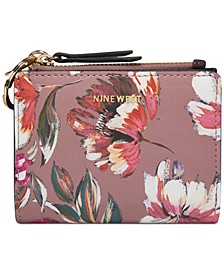 Floral Meadows Small Zip Wallet