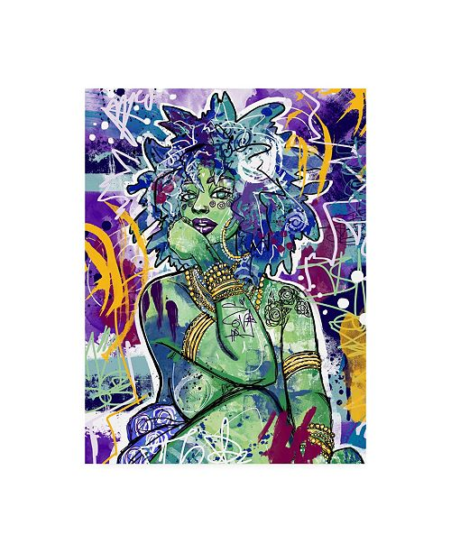 "Trademark Global Justin Copelan Subira Canvas Art - 19.5"" x 26"""