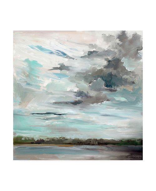 "Trademark Global Carol Halloc Cloudy Days don't Get Me Down Canvas Art - 19.5"" x 26"""
