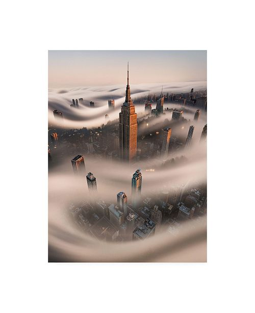 "Trademark Global Bruce Gett Empire Fog Canvas Art - 27"" x 33.5"""