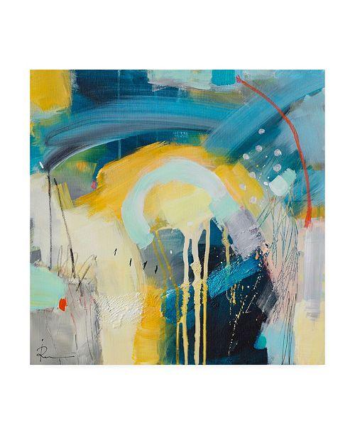 "Trademark Global Ira Ivanov Ira Ivanov Paint Expression Study 4 Canvas Art - 15.5"" x 21"""