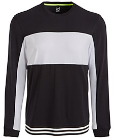 Men's Mesh-Blocked Long-Sleeve T-Shirt, Created for Macy's