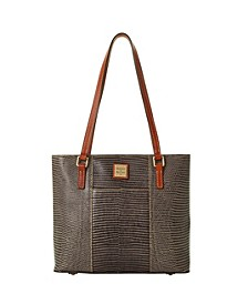 Lizard-Embossed Leather Small Lexington Tote, Created for Macy's
