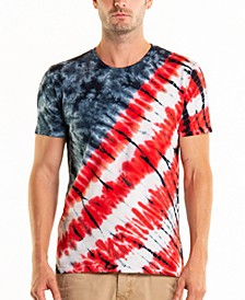 South Sea 4th of July Tie Dye Crewneck Tee
