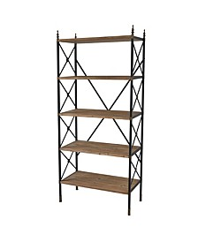 Bevyn 5-Tier Shelf, Quick Ship