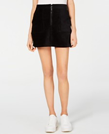 Rewash Corduroy Mini Skirt