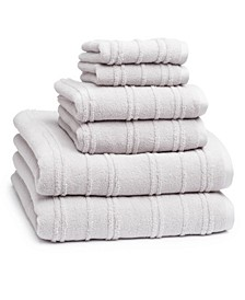 Astor 6-Pc. Combed Cotton Towel Set