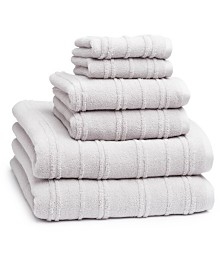 Cassadecor Astor 6-Pc. Combed Cotton Towel Set
