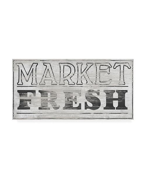 "Trademark Global June Erica Vess Vintage Farmhouse Sign III Canvas Art - 20"" x 25"""