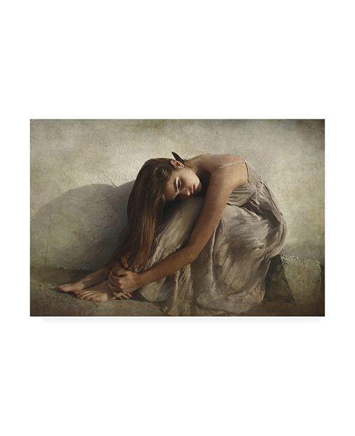 "Trademark Global Olga Mest Saudade Canvas Art - 15"" x 20"""