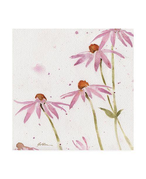 """Trademark Global Sheila Golden Healing Garden 3 Canvas Art - 20"""" x 25"""""""