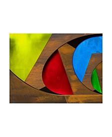 """Harry Verschelden Rusty Geometry Canvas Art - 37"""" x 49"""""""