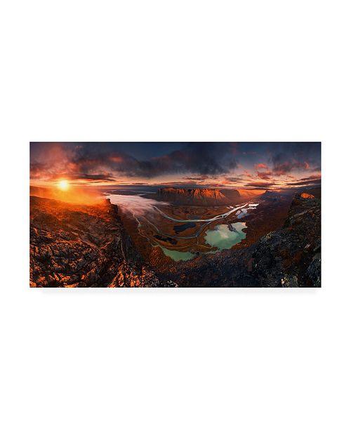 "Trademark Global Karol Nienartowicz Rapa River Delta Canvas Art - 20"" x 25"""