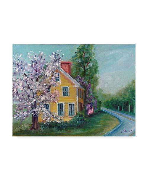 "Trademark Global Marnie Bourque Better Days Home Canvas Art - 20"" x 25"""