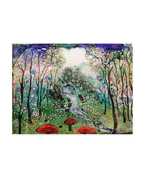 "Trademark Global Michelle Mccullough Fairy Forest Canvas Art - 20"" x 25"""