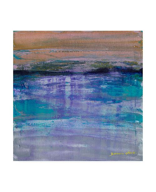 "Trademark Global Masters Fine Art Blue Reflection Canvas Art - 15"" x 20"""