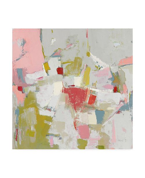 """Trademark Global Phyllis Adams And All That Jazz Pink Canvas Art - 15"""" x 20"""""""