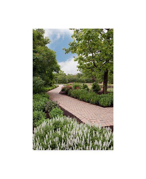 Trademark Global Monte Nagler Pathway At Franklin Park