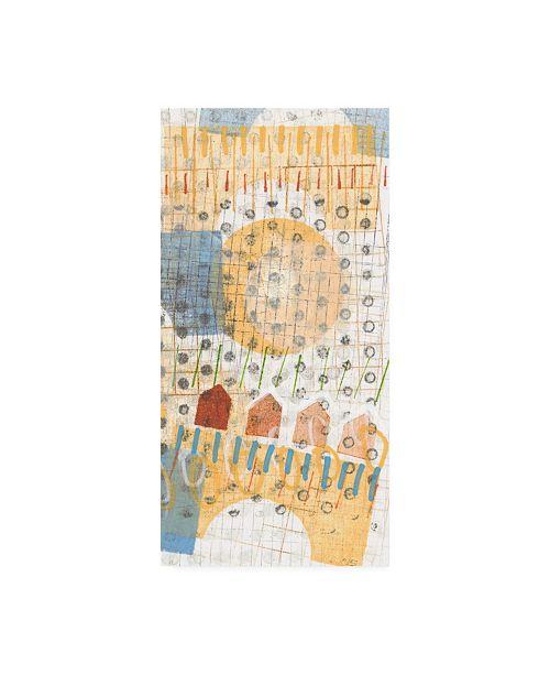 "Trademark Global Nikki Galapon Home Grid IV Canvas Art - 20"" x 25"""