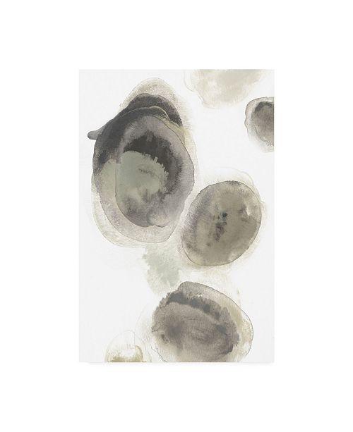 """Trademark Global June Erica Vess Water Stones I Canvas Art - 20"""" x 25"""""""