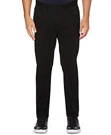 Men's Big Slim-Fit Performance Stretch Wrinkle-Resistant Stain-Repellent Twill Pants