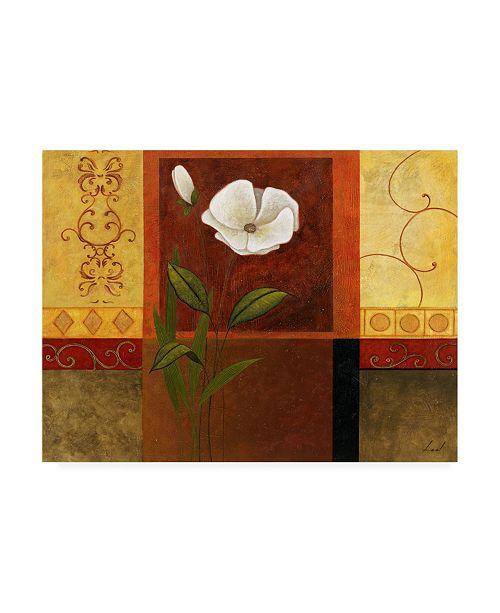 "Trademark Global Pablo Esteban White on Panels 3 Canvas Art - 19.5"" x 26"""