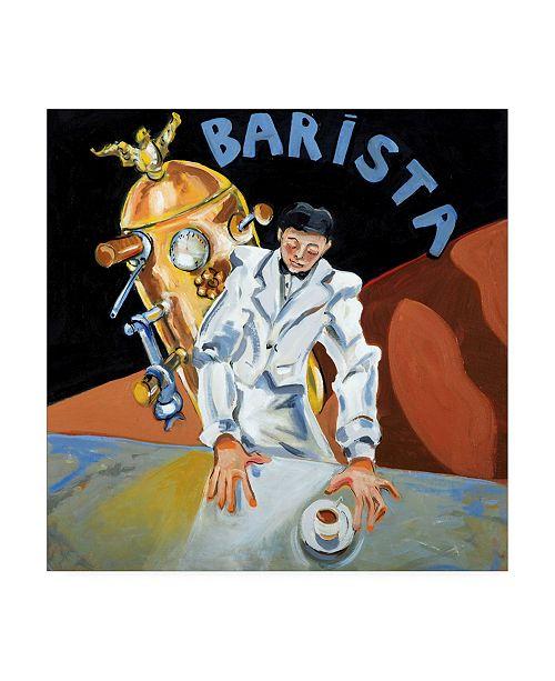 "Trademark Global Patricia A. Reed Barista Garcon Canvas Art - 15.5"" x 21"""
