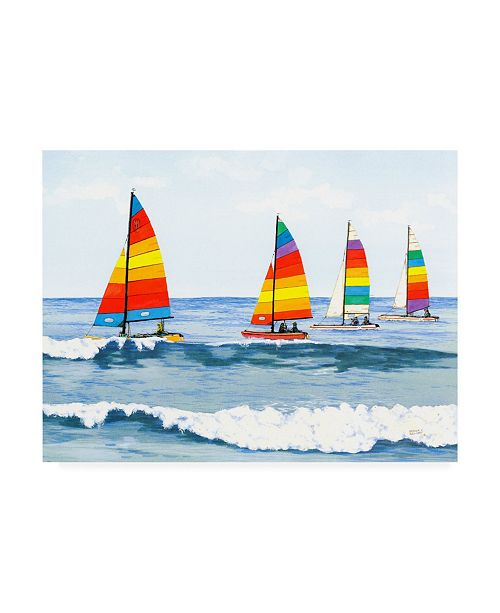 "Trademark Global Patrick Sullivan Sail Colors Canvas Art - 19.5"" x 26"""