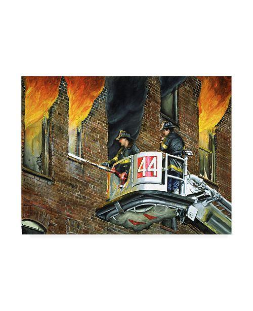 "Trademark Global Paul Walsh Ladder 44 Canvas Art - 36.5"" x 48"""