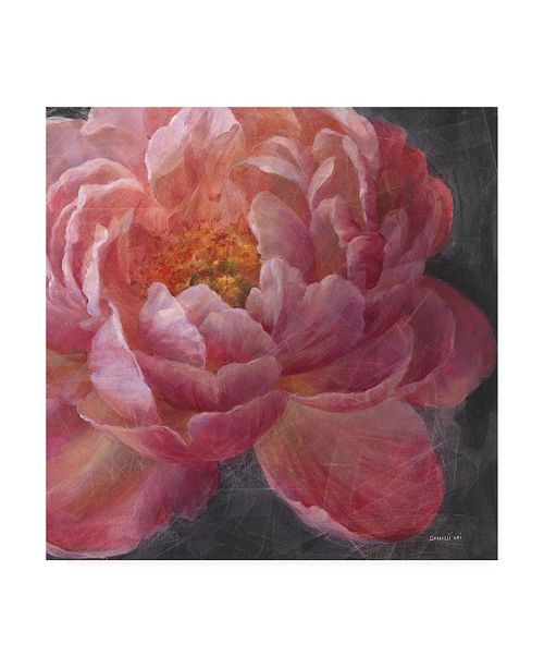 "Trademark Global Danhui Nai Vivid Floral I Crop Canvas Art - 36.5"" x 48"""