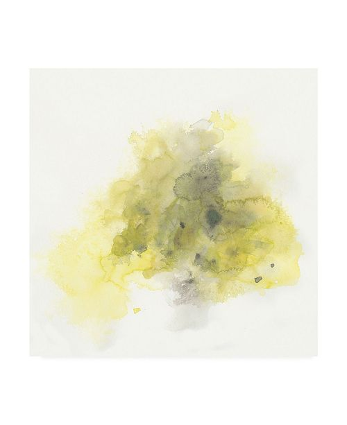 "Trademark Global June Erica Vess Citron Cloud II Canvas Art - 19.5"" x 26"""