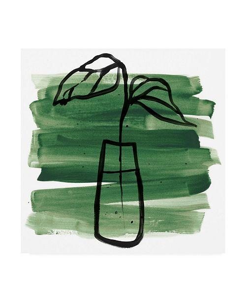 "Trademark Global June Erica Vess Tropical Sumi E III Canvas Art - 15.5"" x 21"""