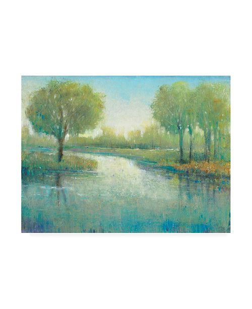 "Trademark Global Tim O'Toole Winding River II Canvas Art - 15.5"" x 21"""