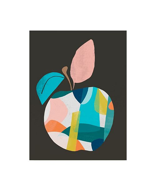 "Trademark Global June Erica Vess Fab Fruit II Canvas Art - 15.5"" x 21"""