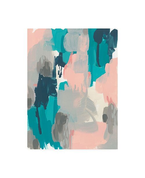 """Trademark Global June Erica Vess Sky Song II Canvas Art - 27"""" x 33.5"""""""