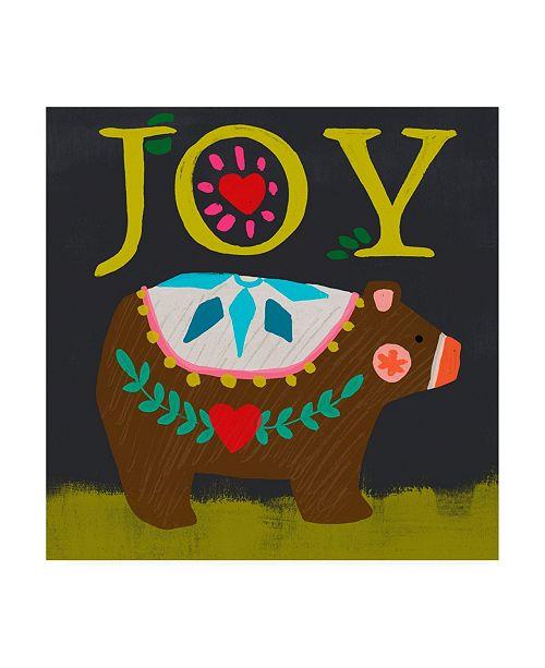 "Trademark Global June Erica Vess Nordic Joy I Canvas Art - 19.5"" x 26"""