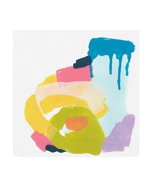 "Trademark Global June Erica Vess Shorthand VIII Canvas Art - 15.5"" x 21"""