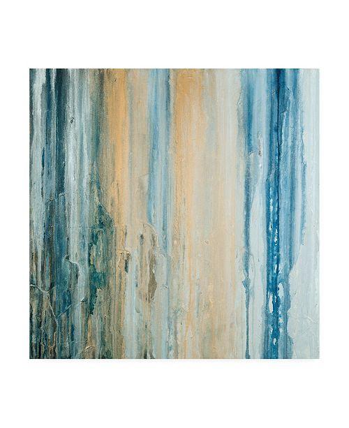 "Trademark Global Teodora Guererra Tiger Stripes II Canvas Art - 15.5"" x 21"""
