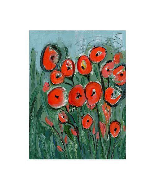 "Trademark Global Tara Daavettila All That Jazz Garden I Canvas Art - 27"" x 33.5"""