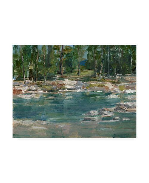 """Trademark Global Ethan Harper Northwestern Lake I Canvas Art - 15.5"""" x 21"""""""