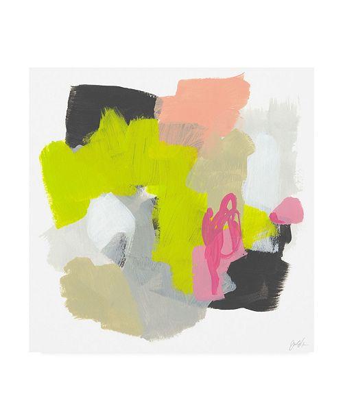 "Trademark Global June Erica Vess Capriccio I Canvas Art - 15.5"" x 21"""