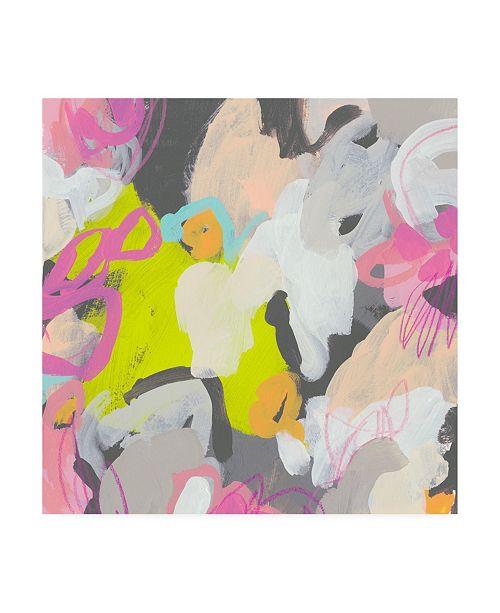 "Trademark Global June Erica Vess Graffiti Rhythm III Canvas Art - 15.5"" x 21"""