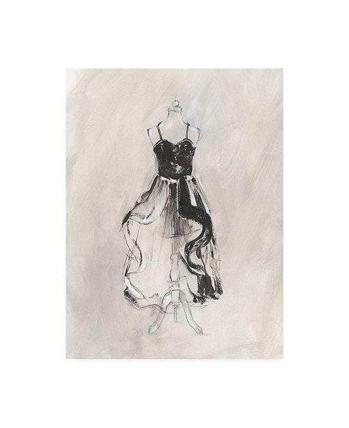 "Trademark Global Ethan Harper Black Evening Gown II Canvas Art - 27"" x 33.5"""