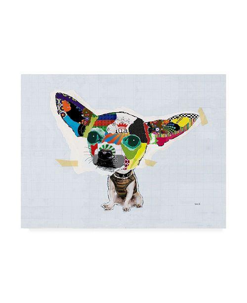 "Trademark Global Michel Keck Chihuahua I Canvas Art - 15.5"" x 21"""