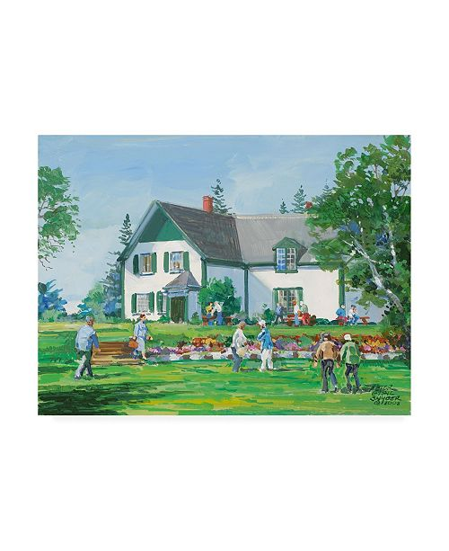 "Trademark Global Peter Snyder Anne of Green Gables Canvas Art - 15.5"" x 21"""