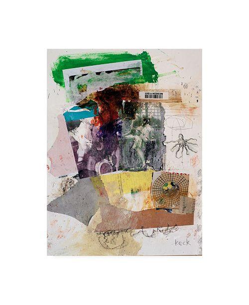 "Trademark Global Michel Keck Swallow You Down Canvas Art - 27"" x 33.5"""