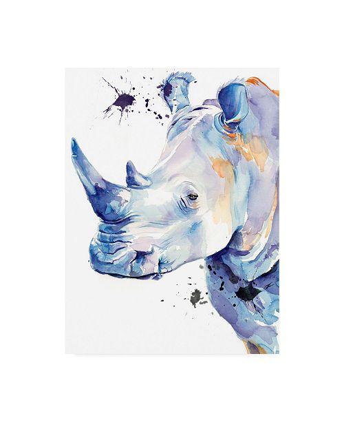 """Trademark Global Jennifer Paxton Parker Ultra Violet Safari II Canvas Art - 15.5"""" x 21"""""""